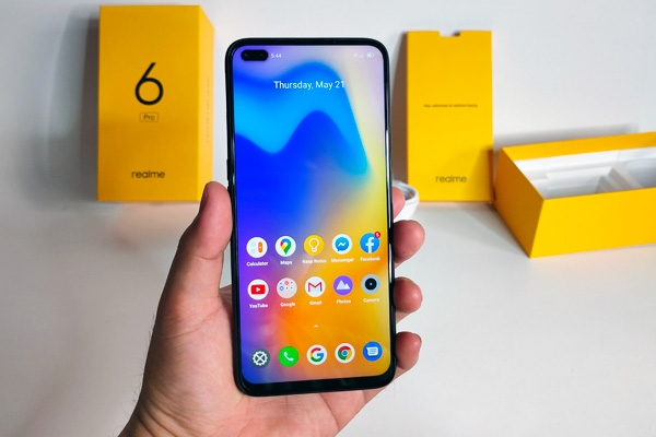 Hands on with the Realme 6 Pro!
