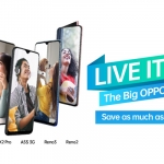 Live it Up! Big OPPO Sale with up to ₱3,000 Discount + Freebies