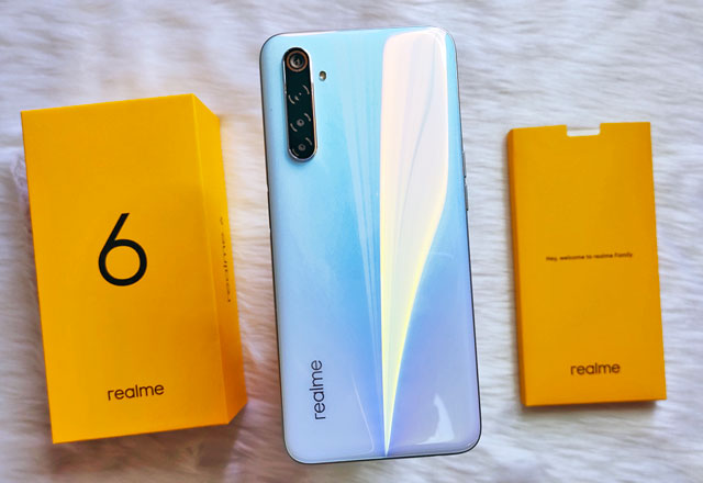 Realme 6 unboxing