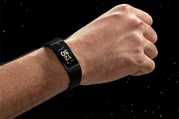 The Realme Band is certified IP68 water resistant.