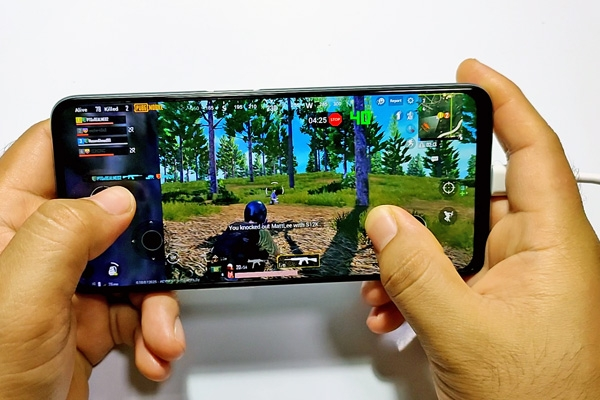 PUBG Mobile on the realme 6.