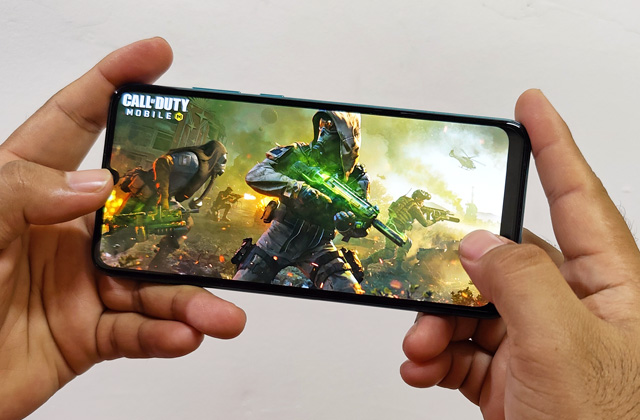Call of Duty Mobile on the Huawei Y6p.