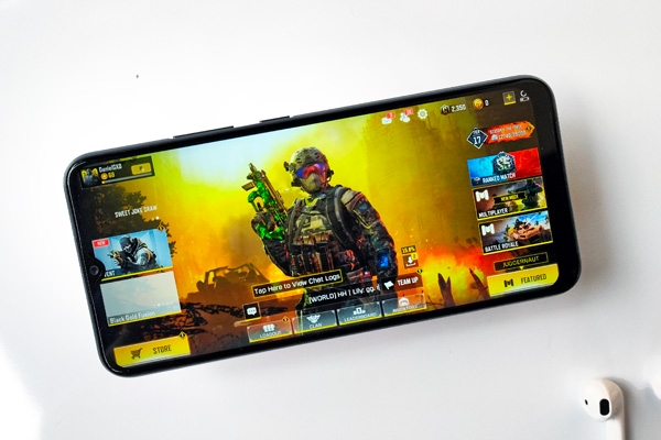 Call of Duty on the realme C11.
