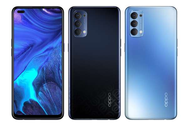 OPPO Reno4 colors