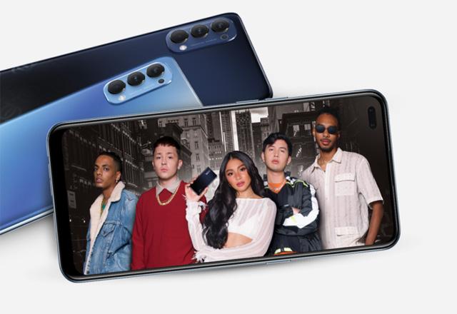 Meet the OPPO Reno4 smartphone!