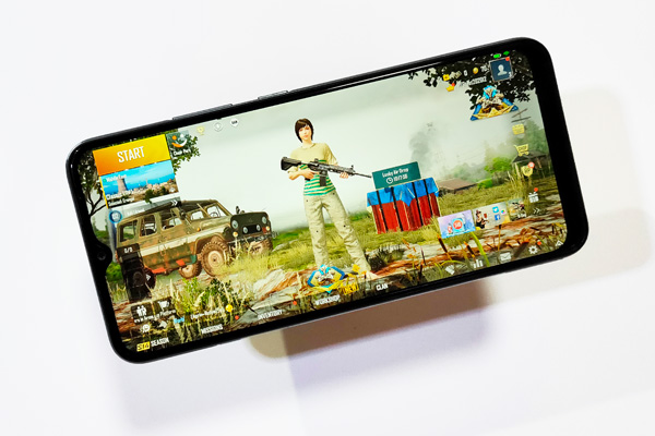 PUBG Mobile on the realme C15.