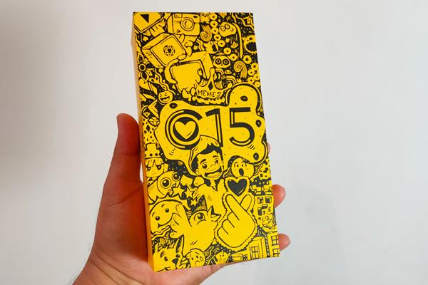 realme C15 doodle box!