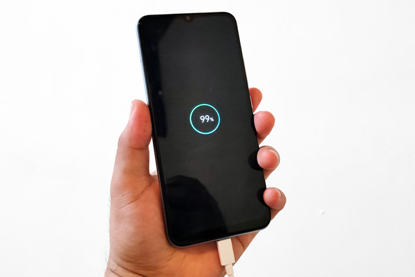 realme C15 charging time