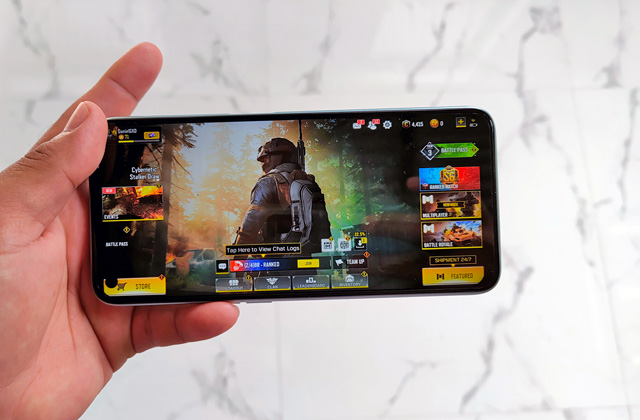 Call of Duty Mobile on the realme 7.