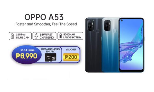 OPPO A53 freebies