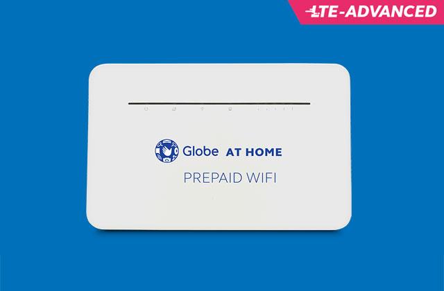 Globe at Home Prepaid Wi-Fi LTE Advanced