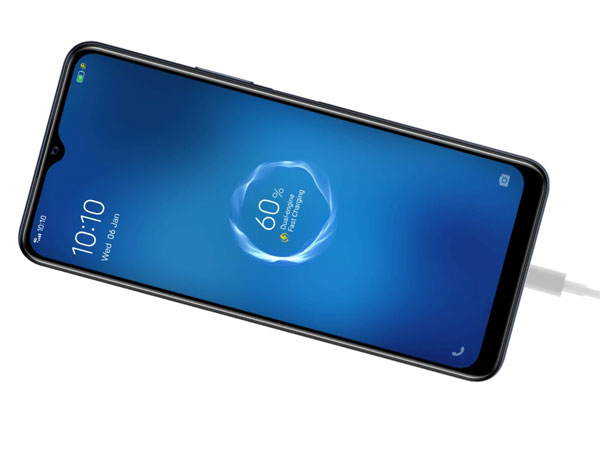 """18W """"Dual-engine"""" fast charging feature of the vivo Y20s [G]."""