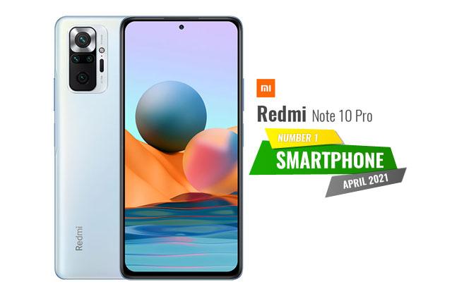 Number 1 smartphone april 2021