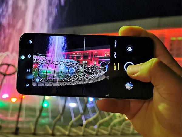The camera app of the realme 8.
