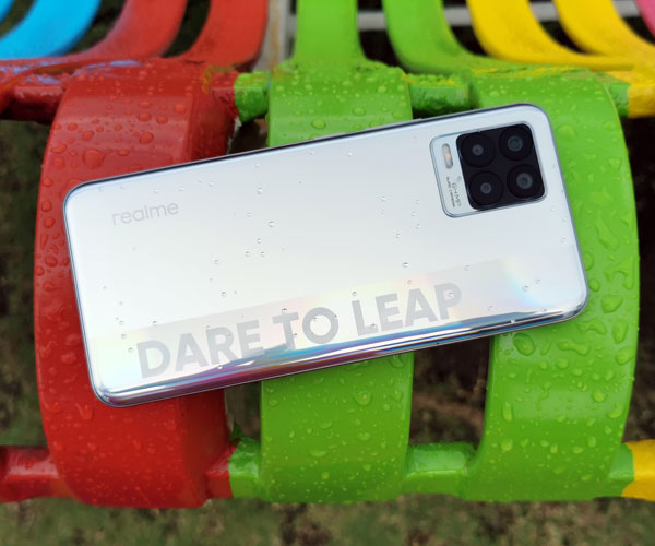 Are you going to leap to the realme 8?