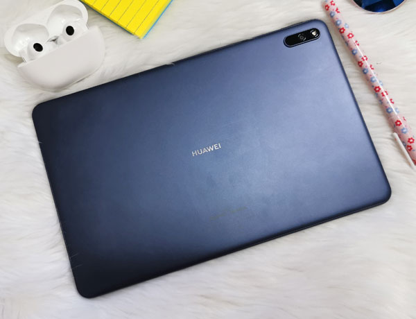 The Back of the new Huawei MatePad.