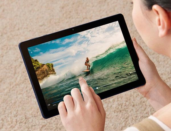 Huawei MediaPad T10 LTE Eye Comfort mode.
