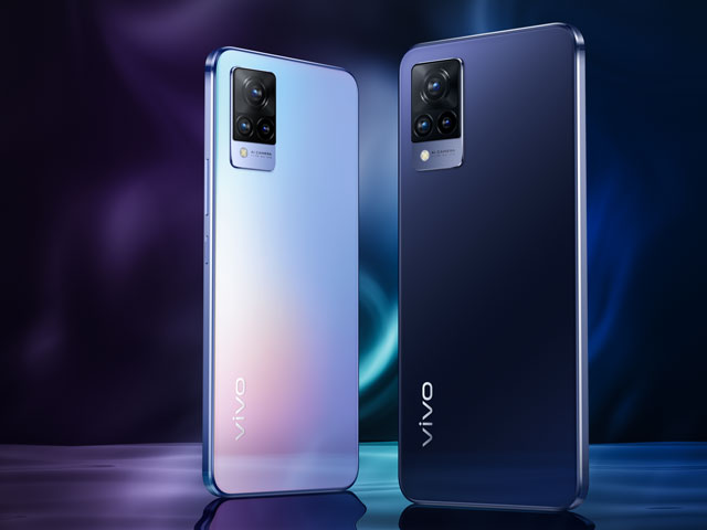 Creat fun and professional-looking portraits and selfies with the new vivo V21 Series.