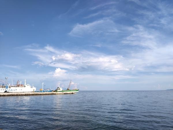 Huawei MatePad 11 sample picture (rear camera, sea port).