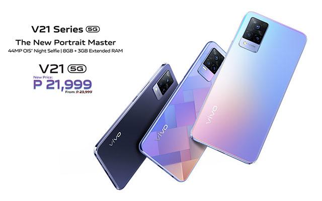 Price Drop Alert for the vivo V21 5G smartphone!