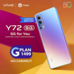 vivo Y72 5G Now Available via Globe Postpaid with Zero Cashout